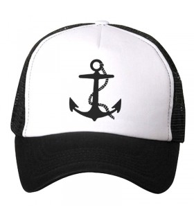 anchor art printed cap